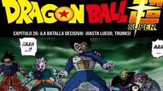 ¡La batalla decisiva! ¡Hasta luego, Trunks!-Manga 26 DragonBall Super